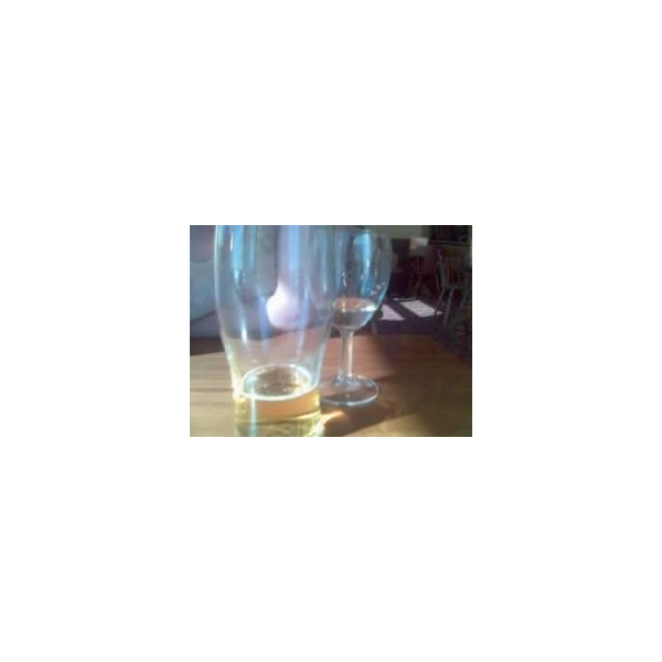 Beer and wine drinks glasses