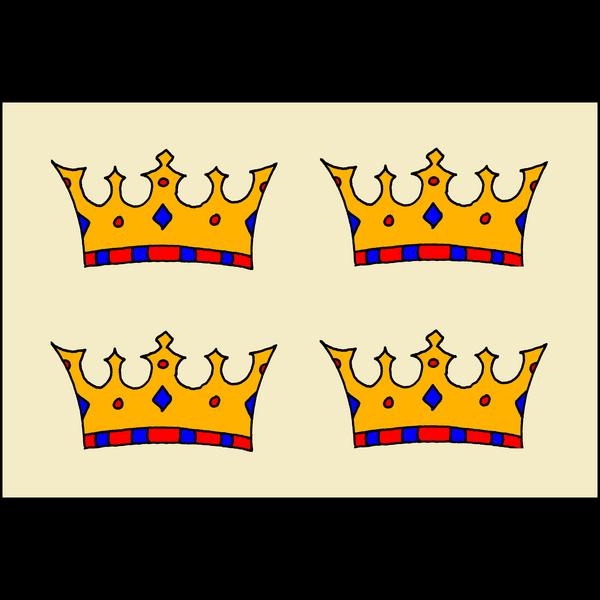 4 Crowns flag