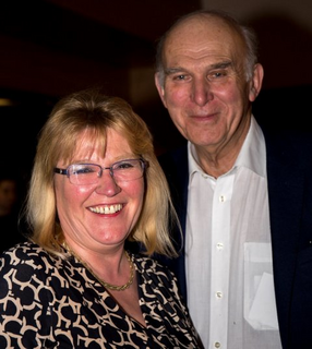 Julia Kirkland meeting Vince Cable
