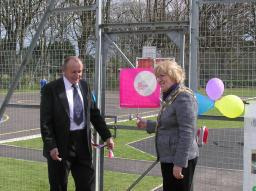 Big Lottery funded teenage rec area