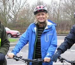 cycling councillor anna jones
