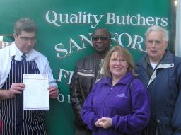 Independent butcher
