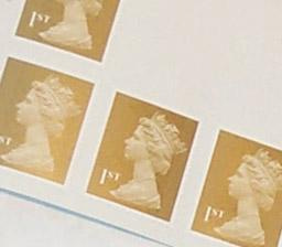 UK first class (1st) stamps
