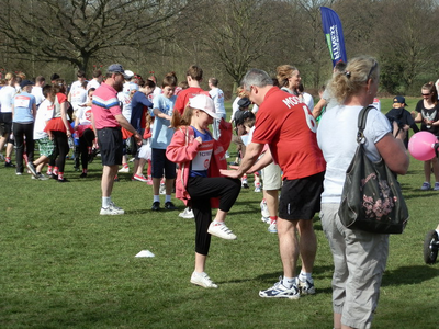 Sport Relief 2012 Warm Up