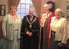 Mayor & Mayoress with deputy mayor & mayoress