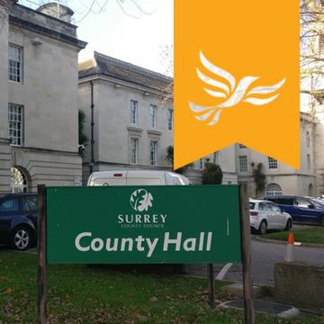 LibDems at County Hall